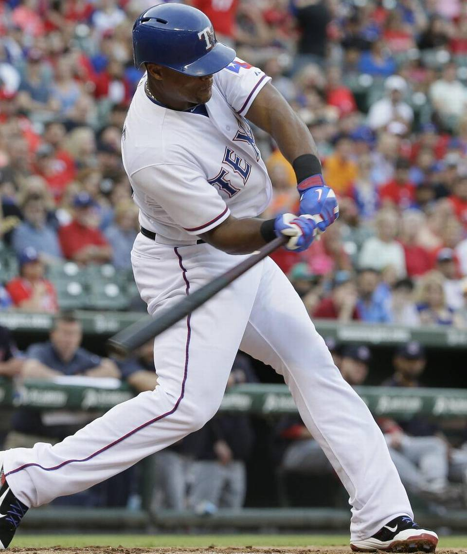 Adrian Beltre Hr Indians 15 Rangers Notes Connects  Career Home Run